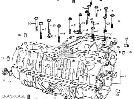 Honda CB400F 1976 USA parts lists and schematics