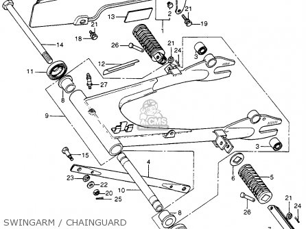Honda Cb400f 1976 Usa parts list partsmanual partsfiche