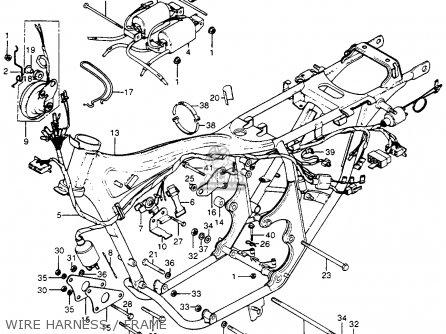 Honda CB400F 1976 USA parts lists and schematics