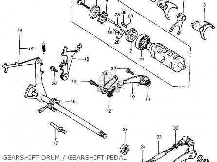 Honda CB400F 1977 USA parts lists and schematics