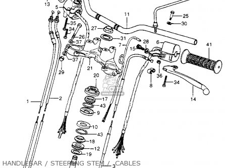 Honda CB400F 1977 USA parts lists and schematics