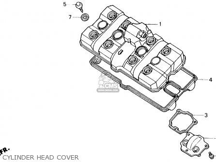 Honda Cb400f 1990 Usa parts list partsmanual partsfiche