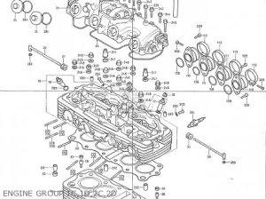 Honda Cb400f Australia parts list partsmanual partsfiche
