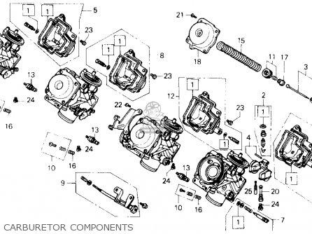 Honda Cb400f Cb-1 Usa parts list partsmanual partsfiche