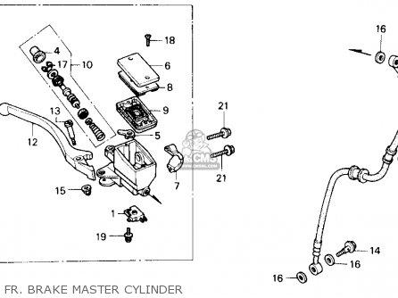 Honda Cb400f Cb1 1989 (k) Usa parts list partsmanual
