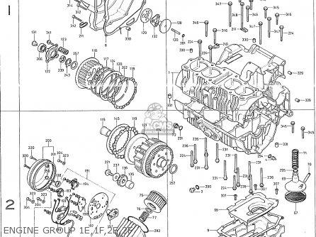 Honda CB400F GENERAL EXPORT KPH parts lists and schematics