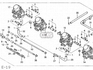 Honda CB400F SUPER FOUR TYPE II 1994 (R) JAPAN NC31-120
