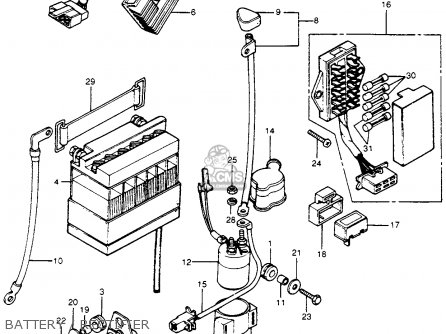 Honda Cb500t Engine Honda CX500 Engine Wiring Diagram ~ Odicis
