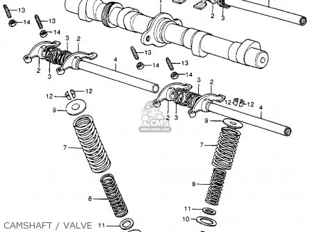 Honda Cb400f Super Sport 400 Four K0 1975 Usa parts list