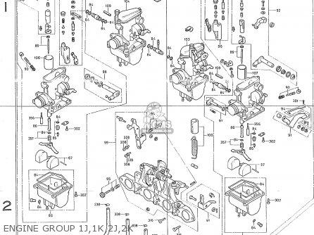Honda CB400F1 CANADA parts lists and schematics