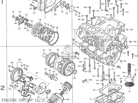Honda CB400F2 CANADA parts lists and schematics