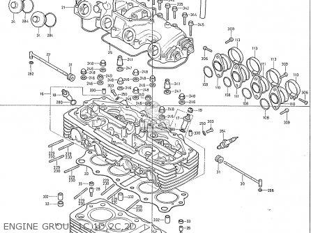 Honda Cb400f2 England parts list partsmanual partsfiche