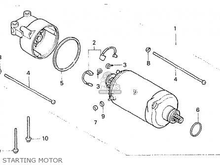 Honda Cb400n 1978 European Direct Sales parts list