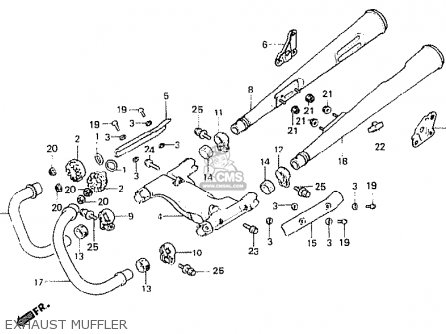 Honda Cb400n 1978 France parts list partsmanual partsfiche