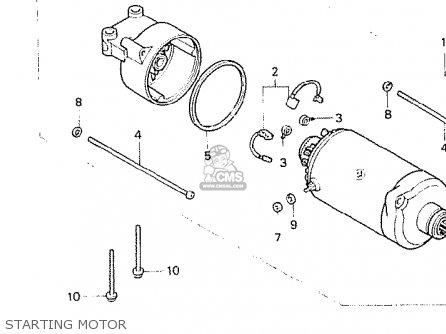 Honda Cb400n 1980 (a) France parts list partsmanual partsfiche