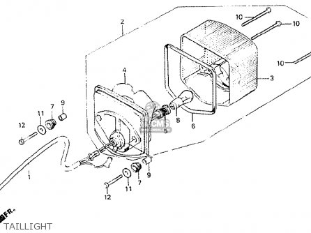 Honda CB400N 1981 (B) AUSTRALIA parts lists and schematics