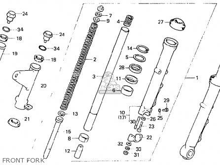 Honda Cb400n 1981 (b) European Direct Sales parts list