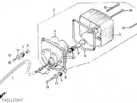 Honda CB400N 1981 (B) FRANCE parts lists and schematics