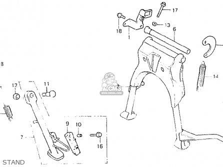 Honda CB400N 1981 (B) NETHERLANDS parts lists and schematics