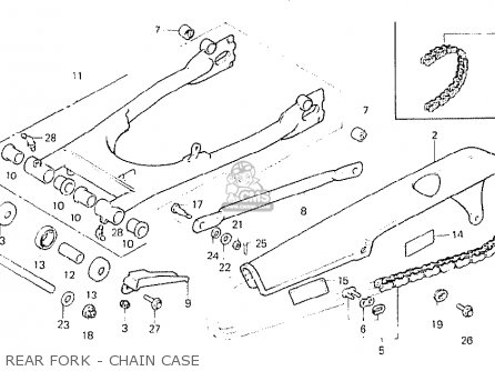 Honda Cb400n Superdream 1978 England parts list