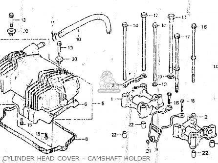 Honda CB400NC 1983 (D) BELGIUM parts lists and schematics