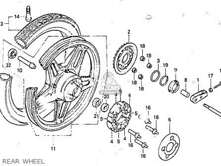 Honda CB400NC 1983 (D) EUROPEAN DIRECT SALES parts lists