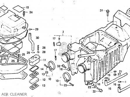 Honda Cb400nc 1983 (d) Germany / Full Power Type 1 parts