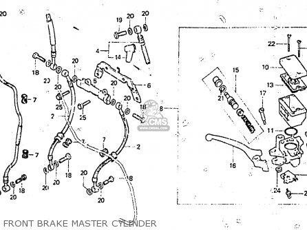 Honda Cb400nc 1983 (d) Netherlands parts list partsmanual