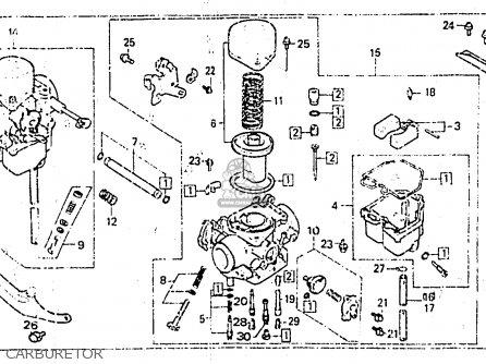 Honda Cb400nc 1983 Superdream (belgium) parts list