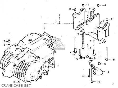 Honda CB400ND 1984 (E) GERMANY / 13 KW TYPE 2 parts lists