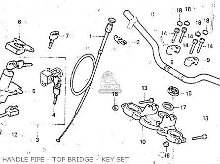 Honda Cb400nd 1984 (e) Germany / Full Power Type 1 parts