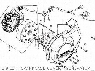 Honda CB400P 1979 (Z) POLICE GENERAL EXPORT parts lists