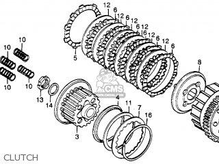 Honda Cb400t 1981 Usa parts list partsmanual partsfiche