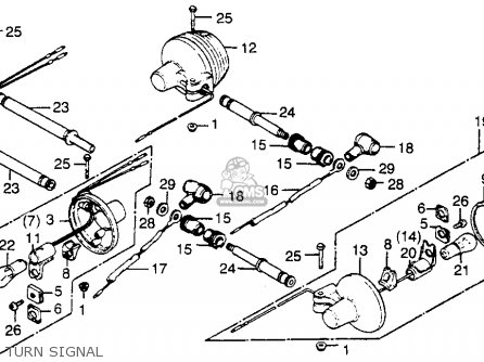 1981 Honda Xl500s Wiring Diagram Cmsnl 1981 Honda XL125S