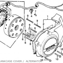 1980 Honda Cb400t Wiring Diagram Kicker Cvr Dvc Hawk A Usa Parts Lists And Schematics Left Crankcase Cover Alternator