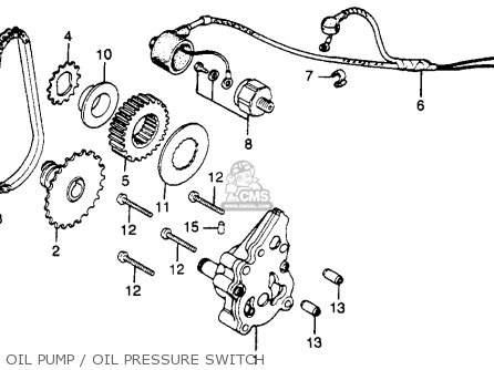 1980 honda cb400t wiring diagram 7 pin truck hawk a usa parts lists and schematics oil pump pressure switch