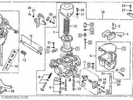 Honda Cb400t-ii 1979 (european Direct Sales) parts list