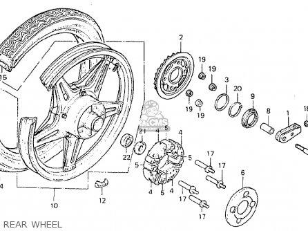 Honda CB400TII 1979 (Z) CANADA parts lists and schematics