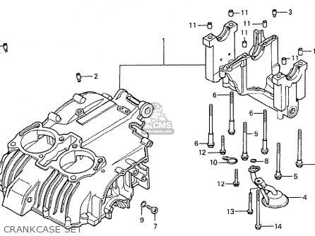 Honda Cb400tii Dream 1979 (z) England Lhd parts list