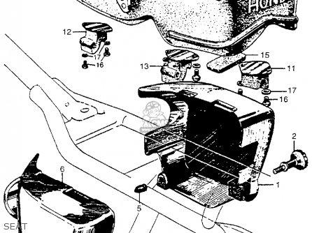 Honda Cb450 Super Sport 450 K0 Us Black Bomber 1965 parts