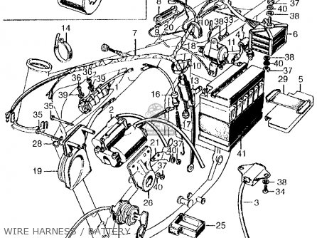 Honda Cb450 Super Sport 450 K2 1969 Usa parts list