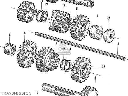Honda Cb450k0 Black Bomber General Export Usa parts list