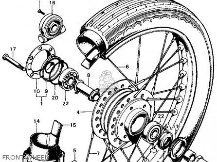 Honda CB450K3 1970 USA parts lists and schematics
