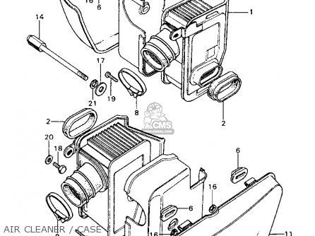 Honda Cb450k6 1973 Usa parts list partsmanual partsfiche