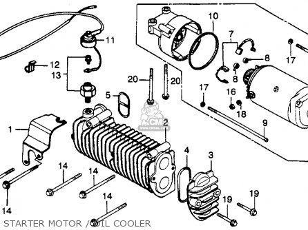 Honda CB450SC NIGHTHAWK 1982 (C) USA parts lists and