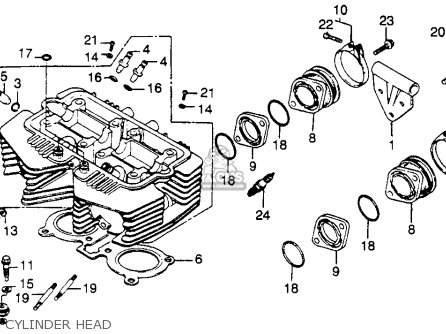 Wiring For 1984 Goldwing Cb Radio - Diagrams Catalogue on