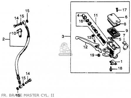 Honda Cb450sc Nighthawk 1986 (g) Usa California parts list