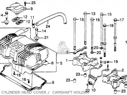 Honda Motorcycle 1982 650 Carburetor Diagram