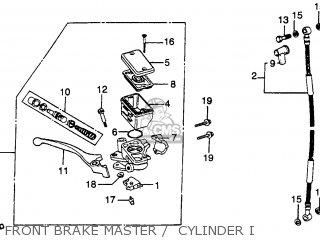 Honda Cb450sc Nighthawk 450 1982 Usa parts list