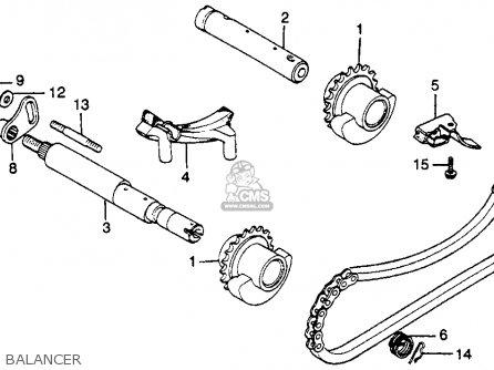 Honda Cb450sc Nighthawk 450 1983 Usa parts list